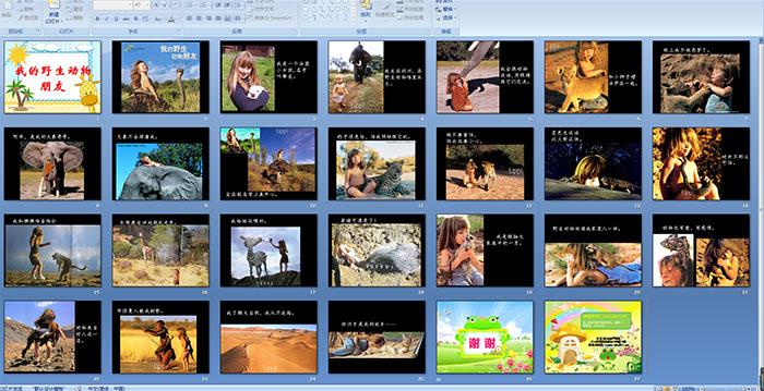 幼儿园大班故事——我的野生动物朋友