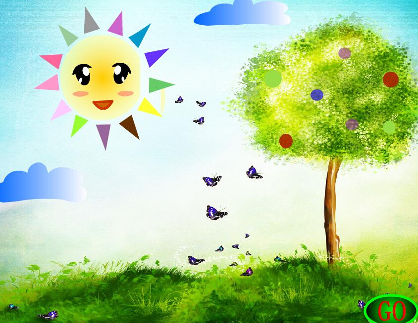 幼儿园小班语言活动:太阳和月亮
